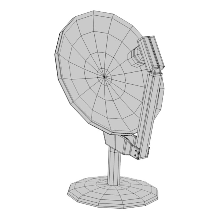 antenna2 royalty-free 3d model - Preview no. 4