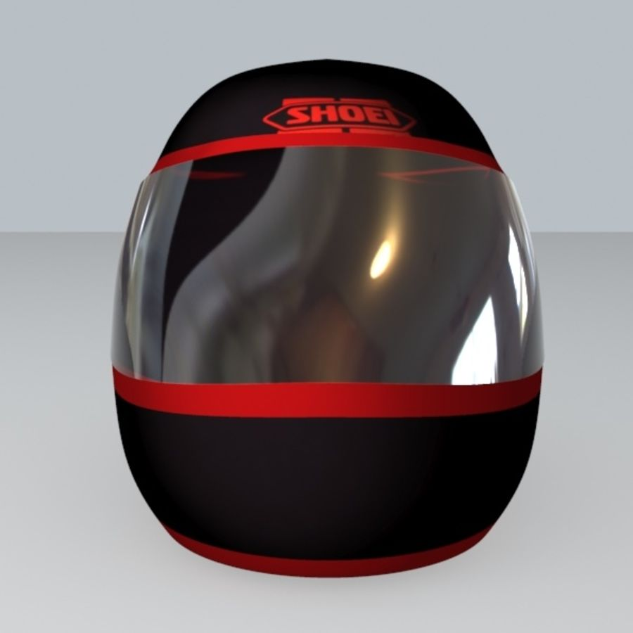 MOTORBIKE HELMET royalty-free 3d model - Preview no. 2