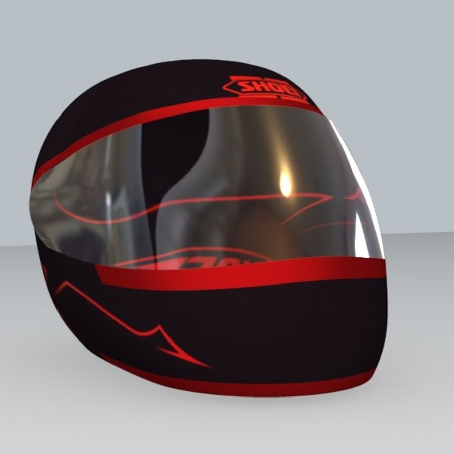 MOTORBIKE HELMET royalty-free 3d model - Preview no. 1