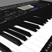 Keyboard: Yamaha PSR420: C4D Format 3d model