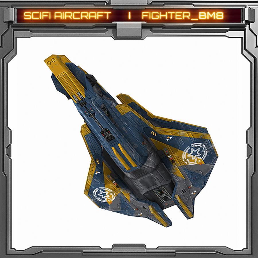 SciFi_BM8 royalty-free 3d model - Preview no. 4