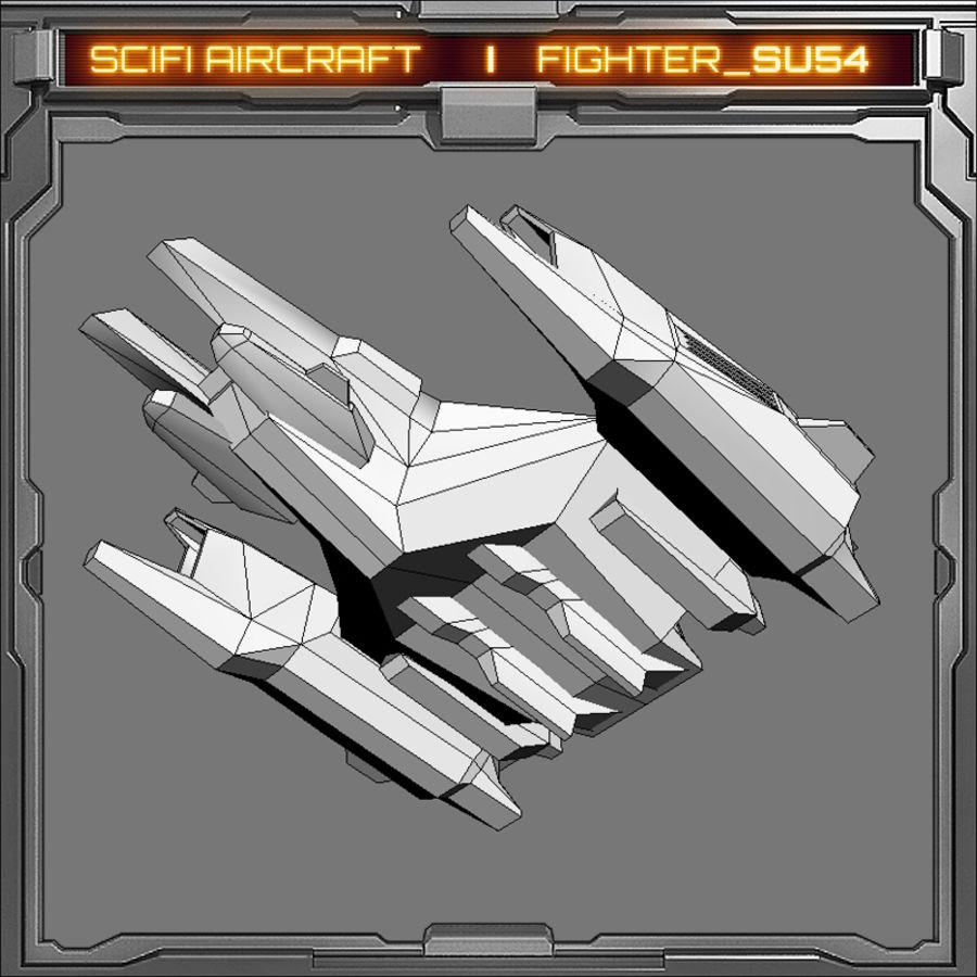 SciFi SU_54 royalty-free 3d model - Preview no. 7