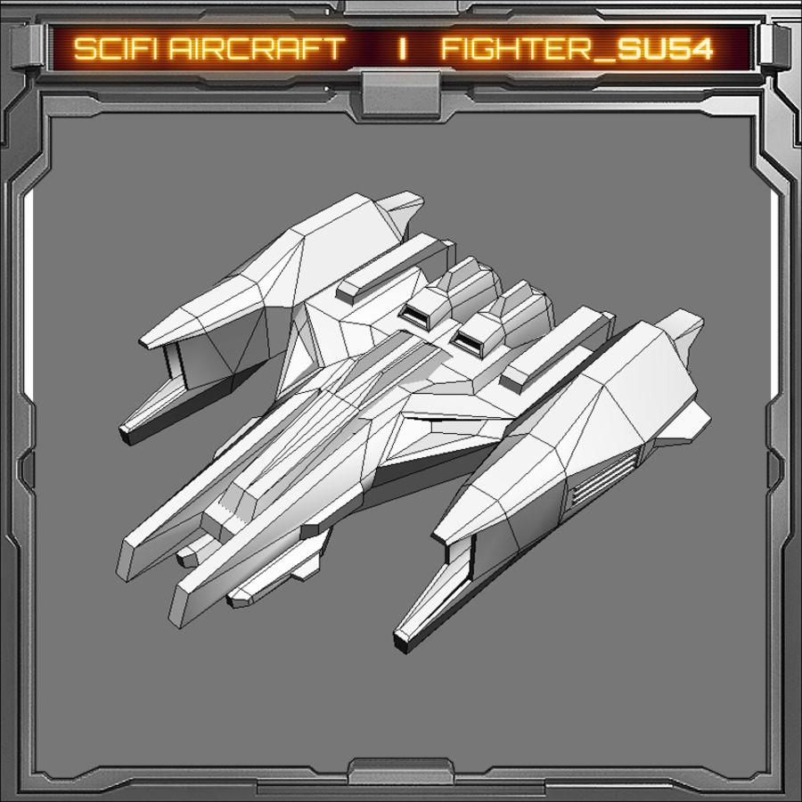 SciFi SU_54 royalty-free 3d model - Preview no. 6