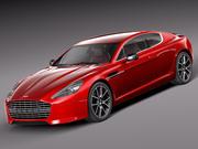 Aston Martin Rapide S 2014 3d model