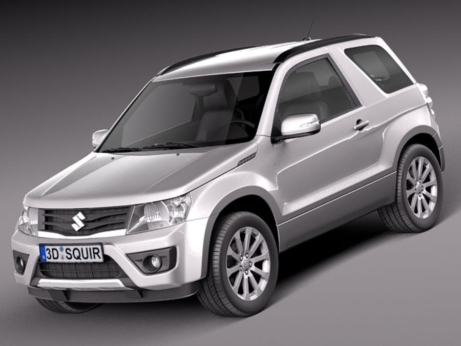 Suzuki Grand Vitara 2013 3-door 3d Model  99