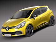 Renault Clio 2013 RS 200 3d model