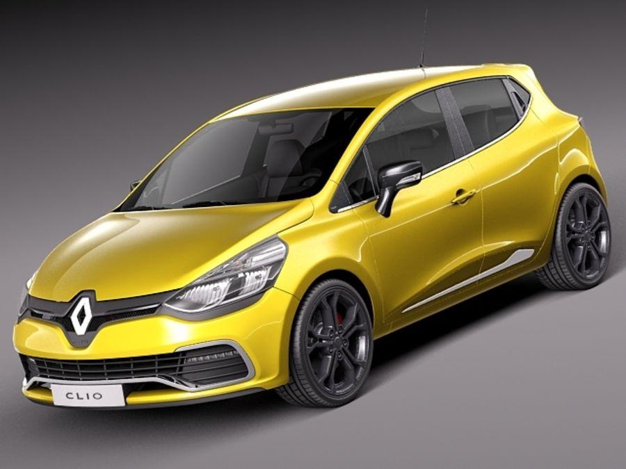 Renault Clio 2013 Rs 200 Modelo 3d 129 Obj Max Lwo
