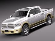 Dodge Ram 2013 Laramie Longhorn 3d model
