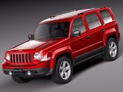 Jeep Patriot 2014 3d model