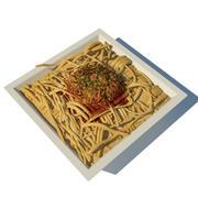 Pasta 3d model