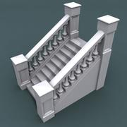 Staircase002_10step 3d model