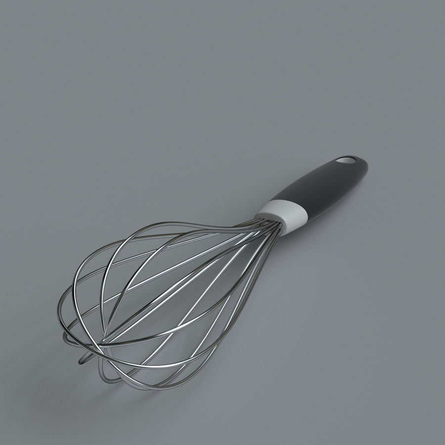 Kitchen accessories royalty-free 3d model - Preview no. 20