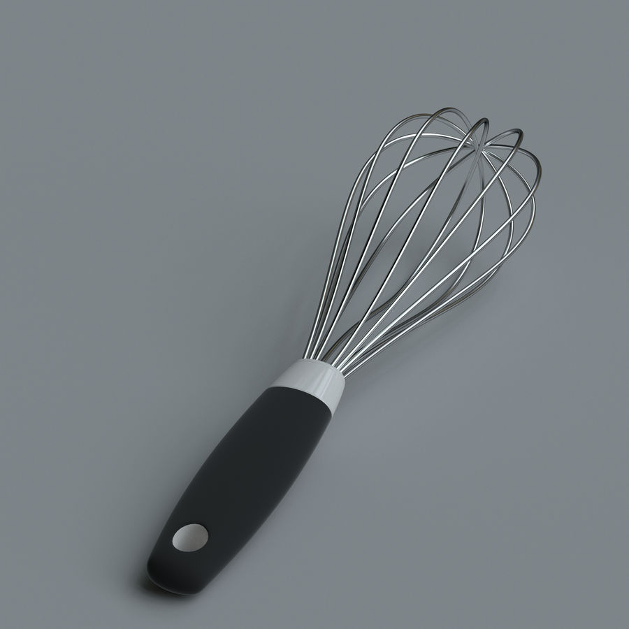 Kitchen accessories royalty-free 3d model - Preview no. 19