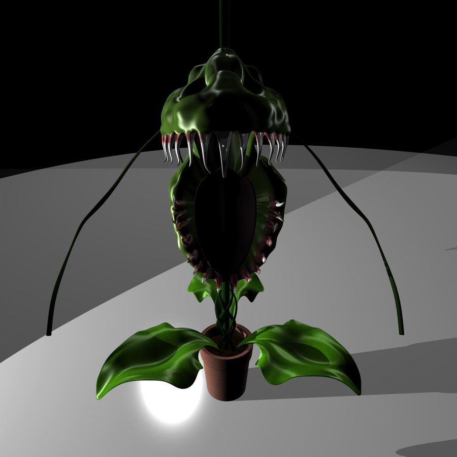 plante royalty-free 3d model - Preview no. 5