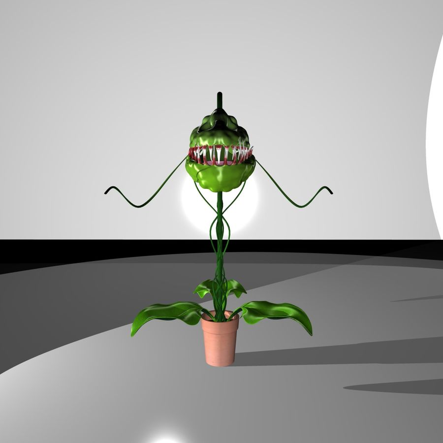 plante royalty-free 3d model - Preview no. 4