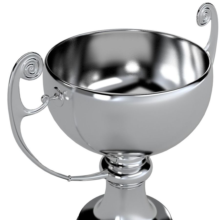 Winner Trophy royalty-free 3d model - Preview no. 3