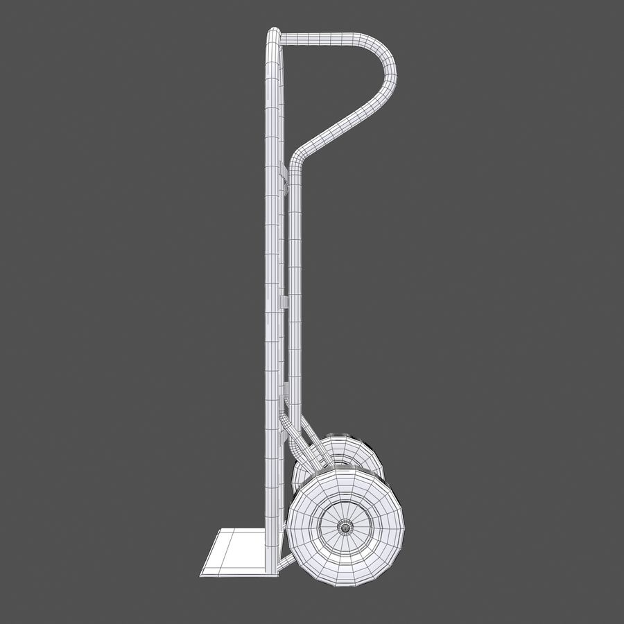 Hand Truck royalty-free 3d model - Preview no. 4