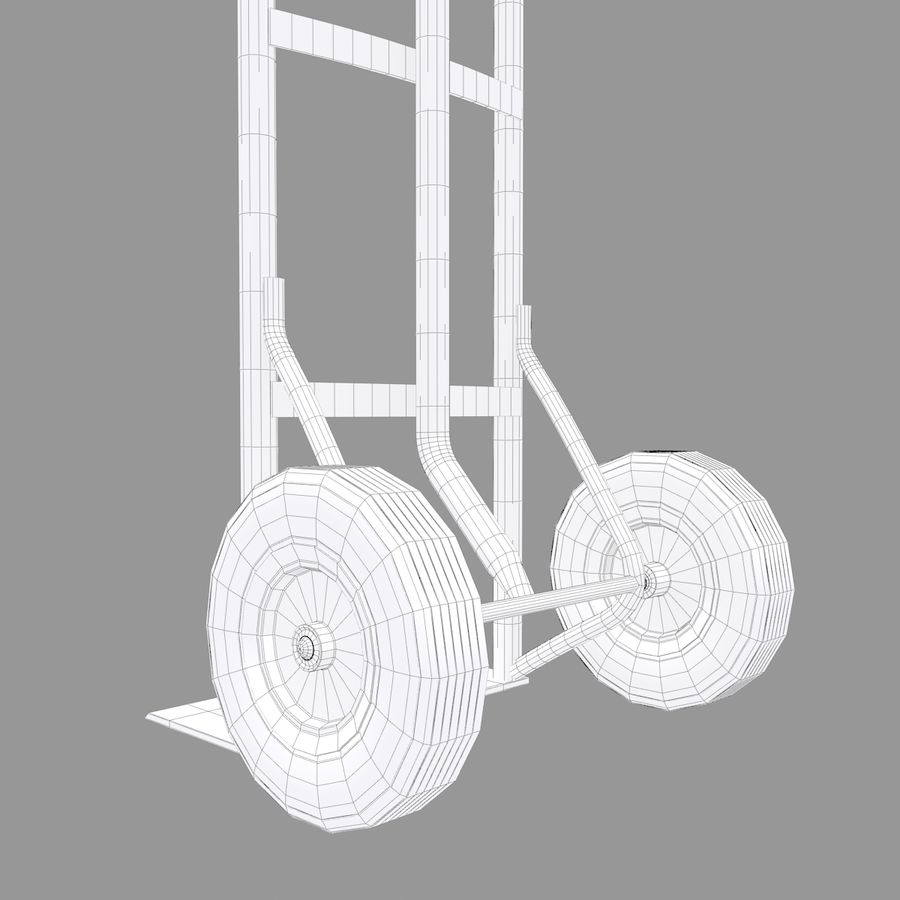 Hand Truck royalty-free 3d model - Preview no. 8