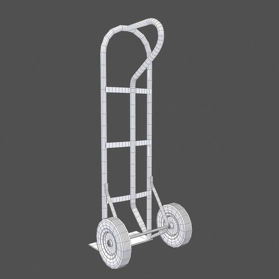 Hand Truck royalty-free 3d model - Preview no. 9