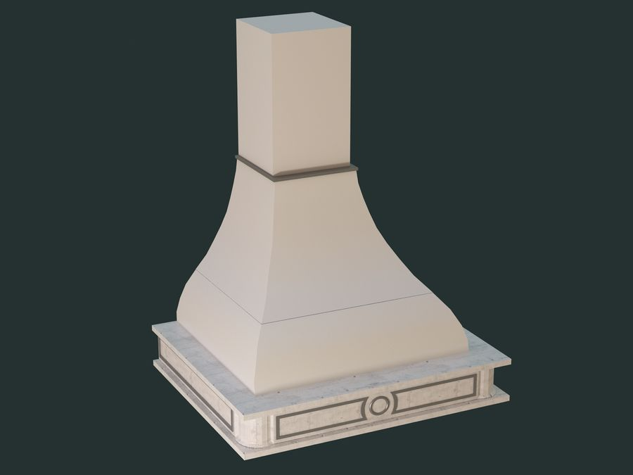Hood royalty-free 3d model - Preview no. 2