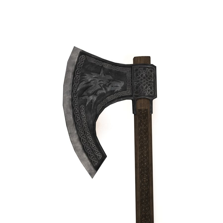 Axe battle royalty-free 3d model - Preview no. 2