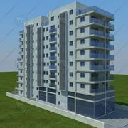 building(1)(2)(3) 3d model