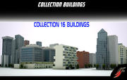 Collection Buildings 3d model