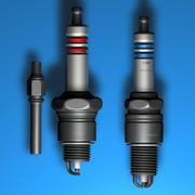Sparkplugs 3d model