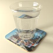 Su bardağı 3d model