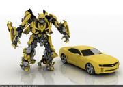bumble bee 3d model
