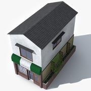 Small Japan Restaurant 3d model