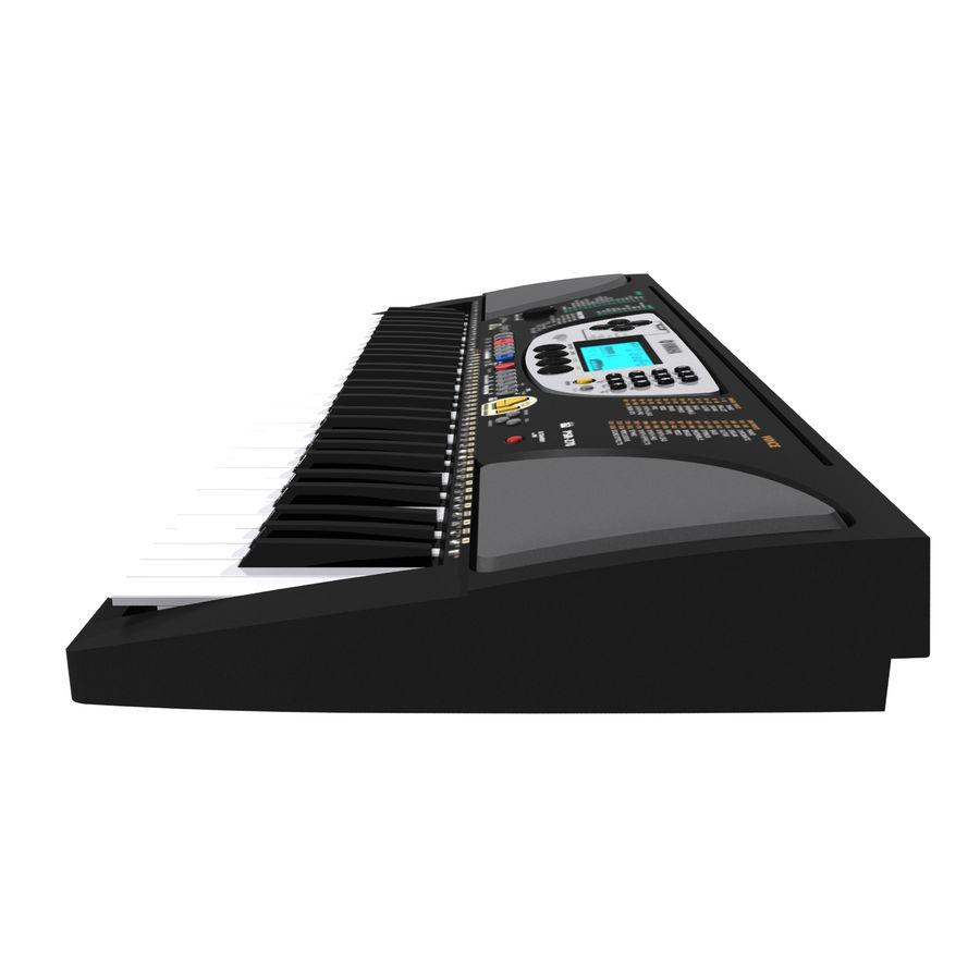 Toetsenbord: Yamaha PSR 270 royalty-free 3d model - Preview no. 10