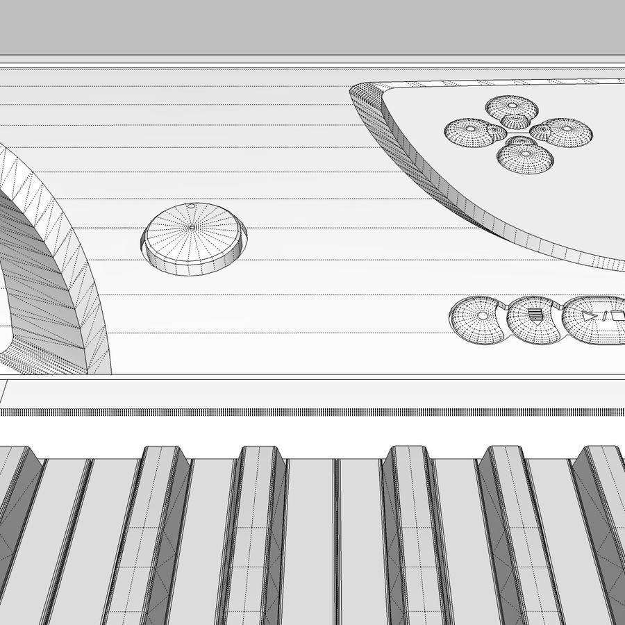 Tastiera: Yamaha PSR 270 royalty-free 3d model - Preview no. 27