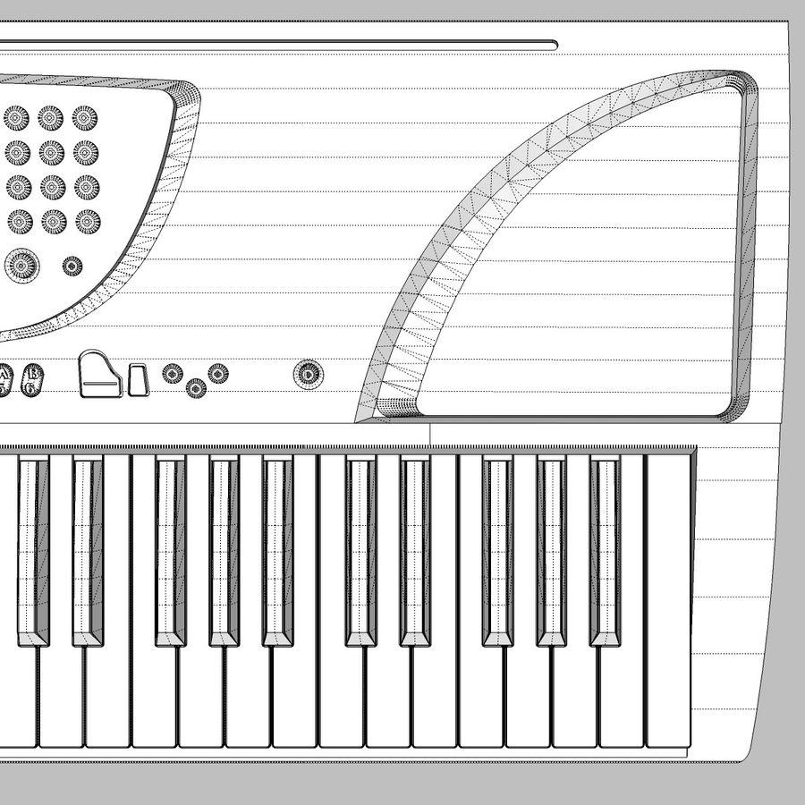 Tastiera: Yamaha PSR 270 royalty-free 3d model - Preview no. 22