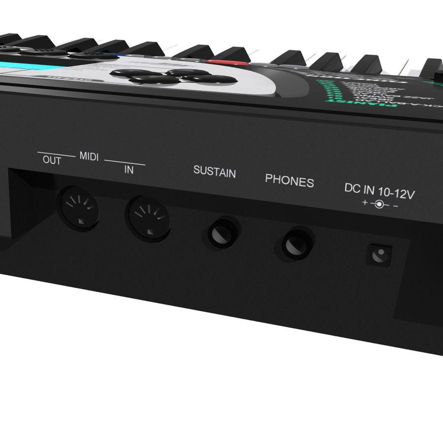 Tastiera: Yamaha PSR 270 royalty-free 3d model - Preview no. 11