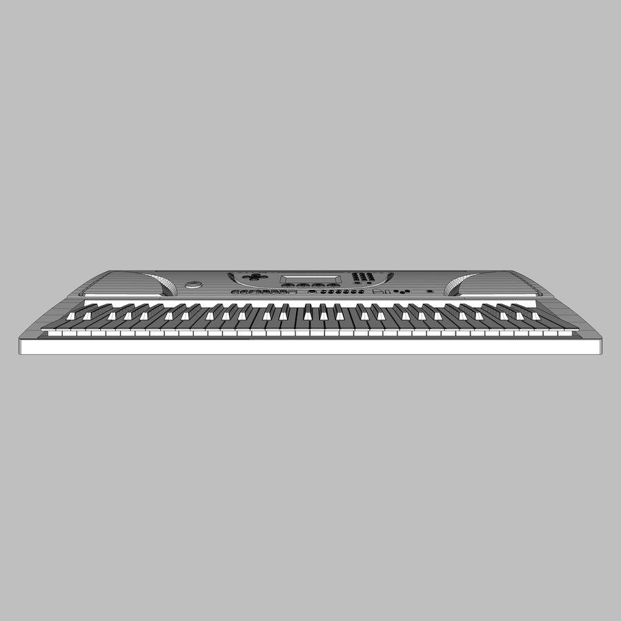 Tastiera: Yamaha PSR 270 royalty-free 3d model - Preview no. 17