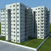 Gebäude (1) (2) (1) (1) (1) 3d model