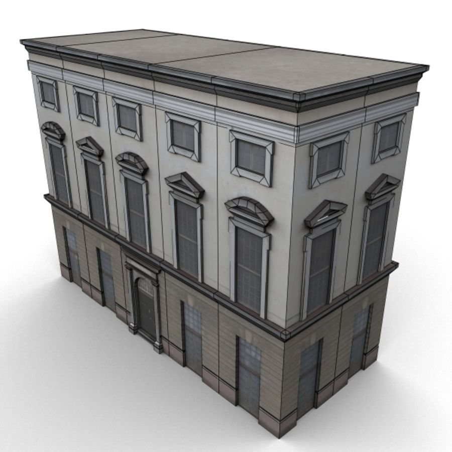 Building 006-010-3-1M royalty-free 3d model - Preview no. 5