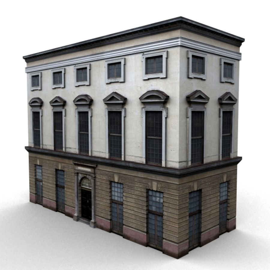 Building 006-010-3-1M royalty-free 3d model - Preview no. 1