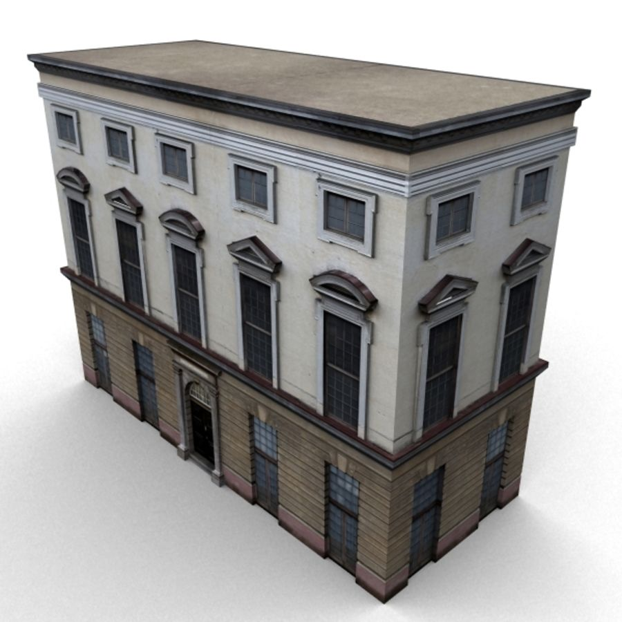 Building 006-010-3-1M royalty-free 3d model - Preview no. 3