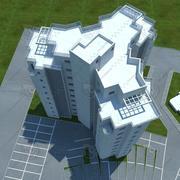 building(7)(1) 3d model