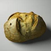Medium bröd 3d model