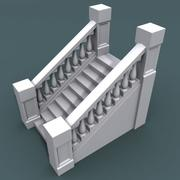 Staircase001_10step 3d model