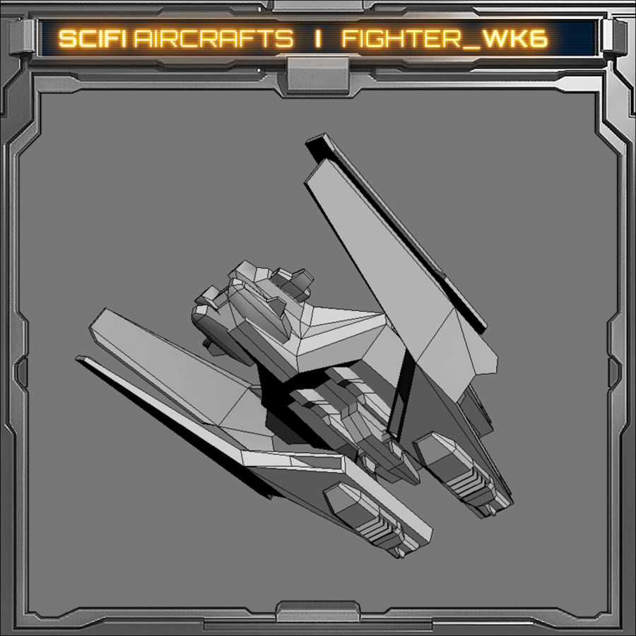 SciFi_WK6 royalty-free 3d model - Preview no. 7