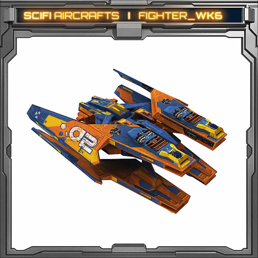 SciFi_WK6 royalty-free 3d model - Preview no. 5
