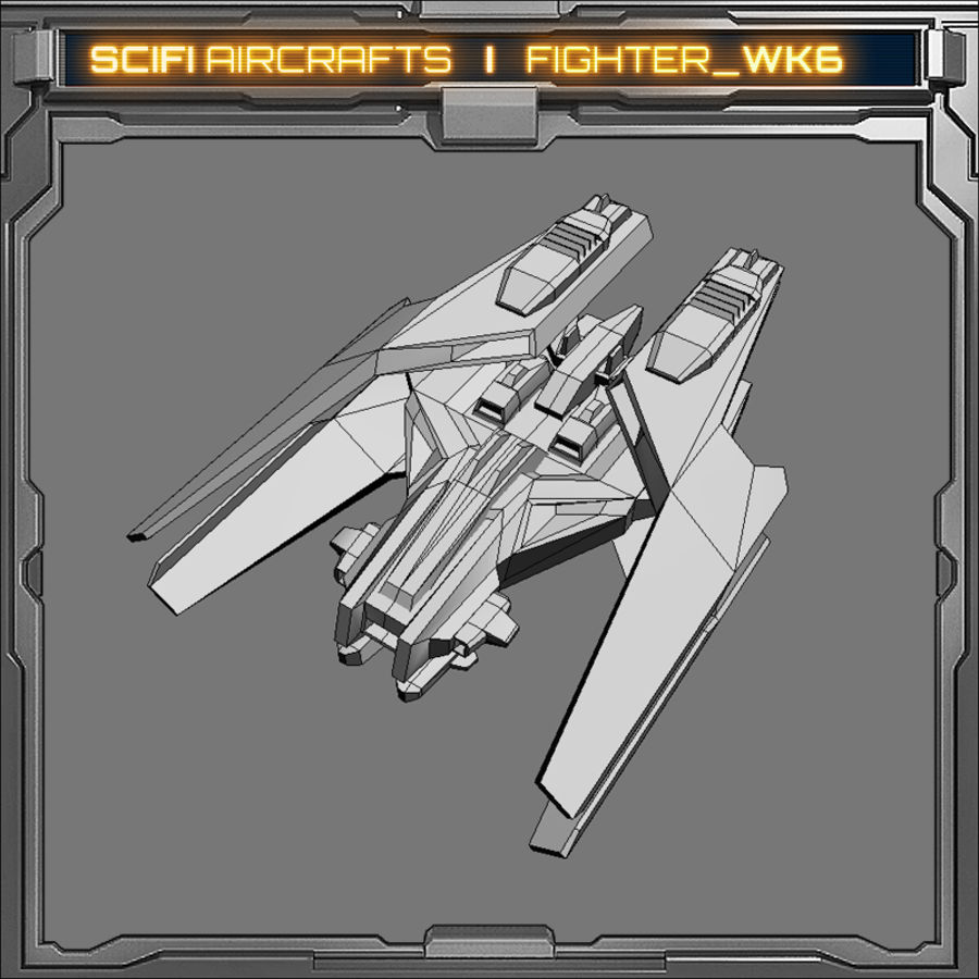 SciFi_WK6 royalty-free 3d model - Preview no. 6