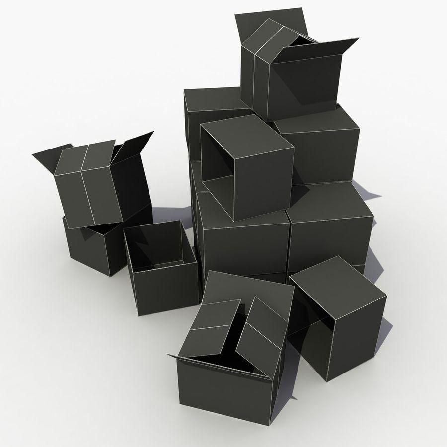 판지 상자 royalty-free 3d model - Preview no. 6
