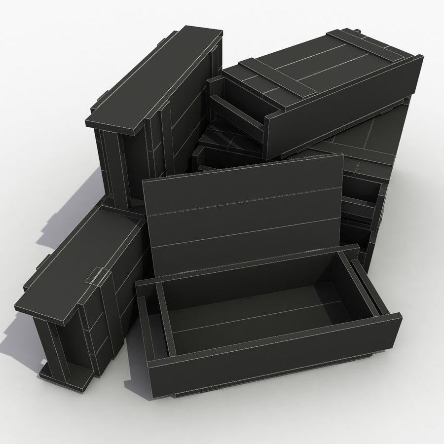 Ammunition royalty-free 3d model - Preview no. 7