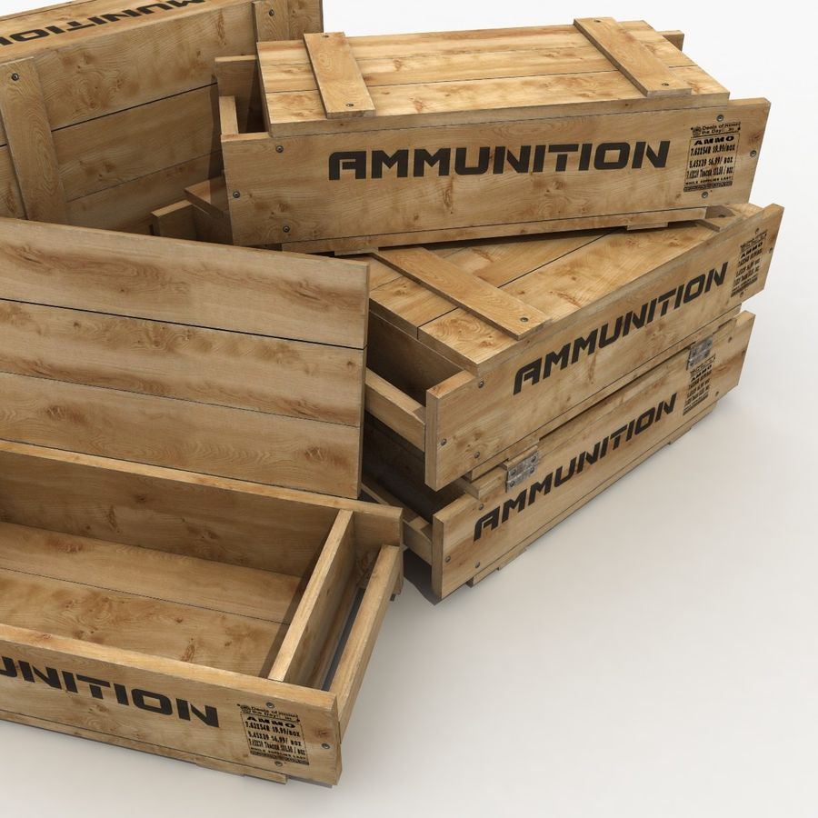 Ammunition royalty-free 3d model - Preview no. 6