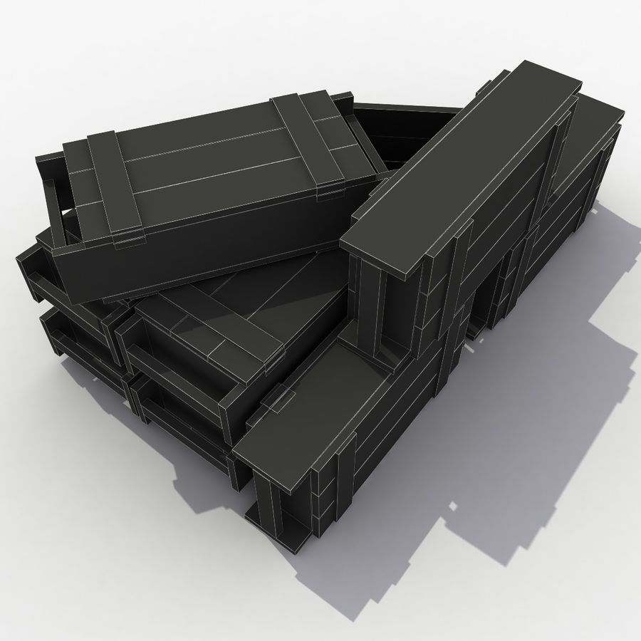 Ammunition royalty-free 3d model - Preview no. 8
